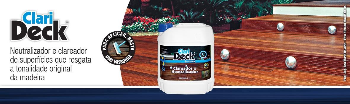 Clari Deck Clareador em São Vicente